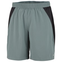 Columbia Sportswear Cool Jewels Shorts - UPF 40, Built-in Brief (For Men) in Metal - Closeouts