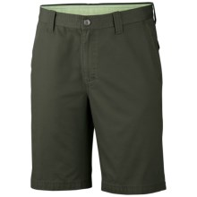 Columbia Sportswear Cooper Spur Shorts - UPF 50 (For Men) in Gravel - Closeouts