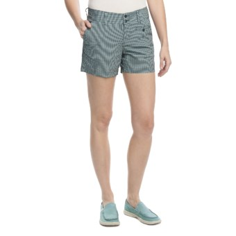 Columbia Sportswear Copper Ridge Shorts - Stretch Cotton (For Women) in Wind