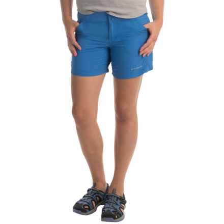 Columbia Sportswear Coral Point II Shorts - UPF 30 (For Women) in Stormy Blue - Closeouts