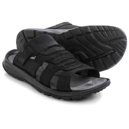 Columbia Sportswear Corniglia II Sandals - Leather (For Men) in Black - Closeouts