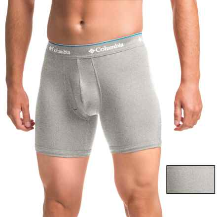 Columbia Sportswear Cotton Stretch Boxer Briefs - 2-Pack (For Men) in Grey/Heather - Closeouts