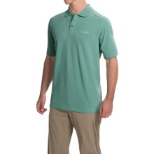 Columbia Sportswear Cottonwood Canyon Polo Shirt - Short Sleeve (For Men) in Gemstone - Closeouts