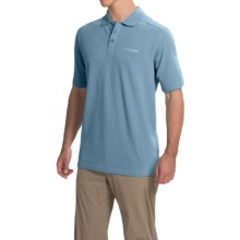 Columbia Sportswear Cottonwood Canyon Polo Shirt - Short Sleeve (For Men) in Steel - Closeouts