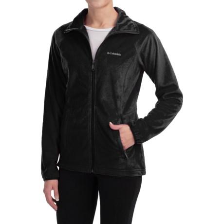 Columbia Sportswear Cozy Cove Fleece Jacket - Full Zip (For Women)