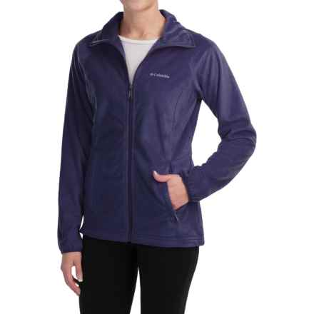 Columbia Sportswear Cozy Cove Fleece Jacket - Full Zip (For Women) in Nightshade - Closeouts