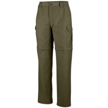 Columbia Sportswear Crested Butte Convertible Pants - UPF 15 (For Men) in Tank - Closeouts