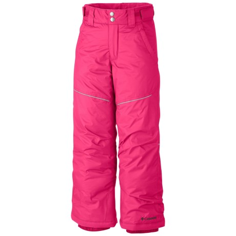 Columbia Sportswear Crushed Out II Snow Pants - Waterproof, Insulated (For Girls) in Bright Rose
