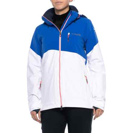 Columbia Sportswear CSC Mogul Omni-Tech® Ski Jacket - Waterproof, Insulated (For Women) in White/Blue Macaw