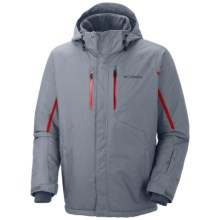 Columbia Sportswear Cubist IV Omni-Heat® Jacket - Insulated (For Big and Tall Men) in Tradewinds Grey - Closeouts
