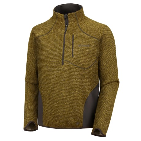 Columbia Sportswear Cuerpo Thermo Omni-Heat® Shirt - Long Sleeve (For Men) in Gold Leaf