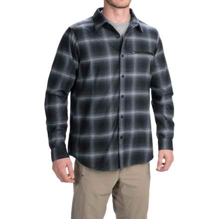 Columbia Sportswear Curtis Creek Omni-Wick® Shirt - UPF 50, Long Sleeve (For Men) in Black Plaid - Closeouts