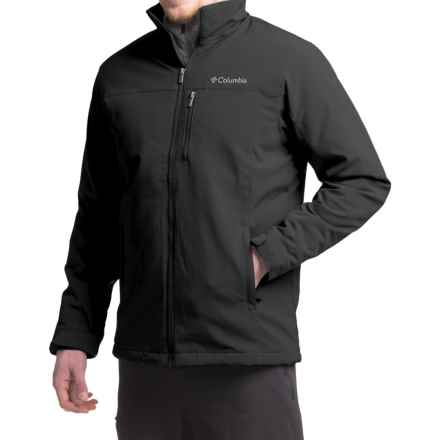 Columbia Sportswear Curtis Ridge Soft Shell Jacket (For Men) in Black - Closeouts