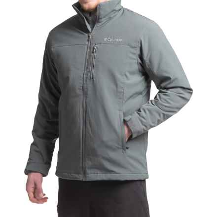 Columbia Sportswear Curtis Ridge Soft Shell Jacket (For Men) in Graphite - Closeouts