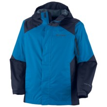 Columbia Sportswear Cypress Brook II Jacket (For Boys) in Compass Blue - Closeouts