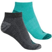 Columbia Sportswear Dash Stripe No-Show Socks - 2-Pack, Below the Ankle (For Women) in Miami - Closeouts