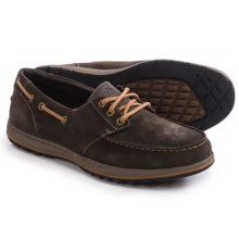 Columbia Sportswear Davenport Boat Shoes - Suede (For Men) in Cordovan/Elk - Closeouts