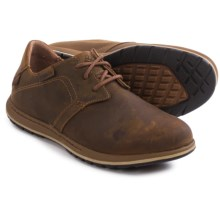 Columbia Sportswear Davenport Shoes - Nubuck (For Men) in Elk/Nutmeg - Closeouts