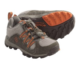 Columbia Sportswear Daybreaker Shoes (For Toddlers) in Tusk/Spark Orange