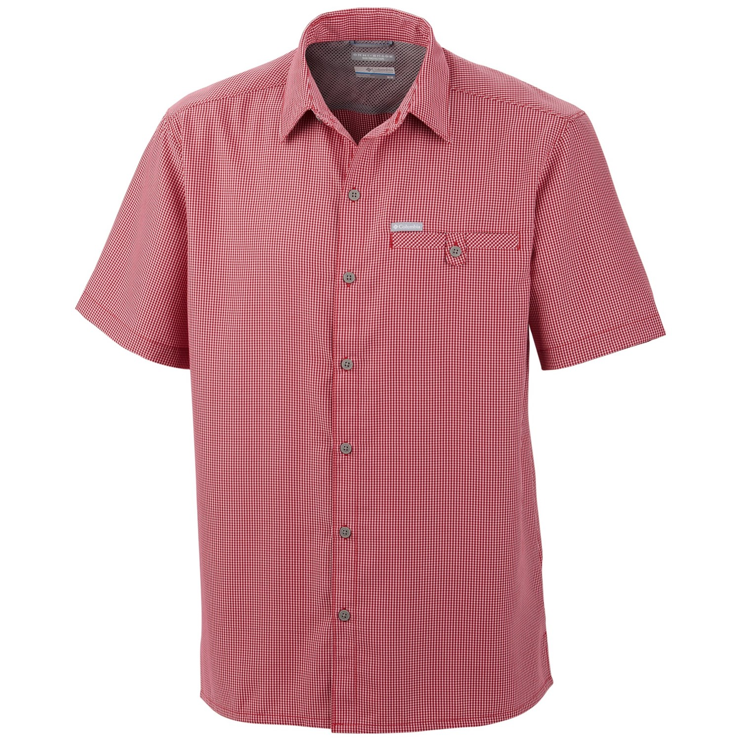 Columbia sportswear declination trail shirt short sleeve for Design your own t shirt big and tall