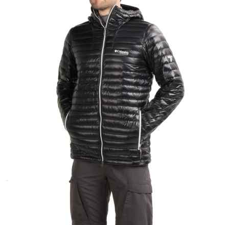 Columbia Sportswear Decompression Omni-Heat® Down Jacket - 1000 Fill Power (For Men) in Black - Closeouts