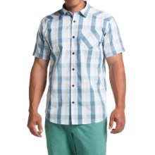 Columbia Sportswear Decoy Rock II Omni-Wick® Shirt - Short Sleeve (For Men) in Cirrus Grey Plaid - Closeouts