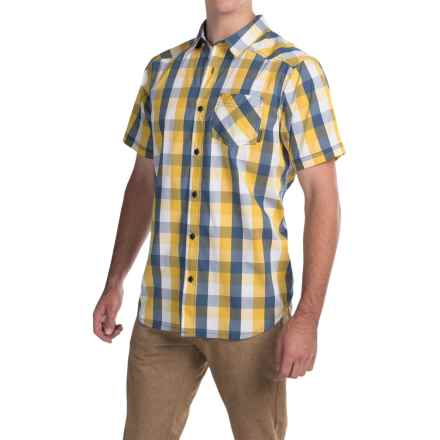 Columbia Sportswear Decoy Rock II Omni-Wick® Shirt - Short Sleeve (For Men) in Dijon Plaid - Closeouts