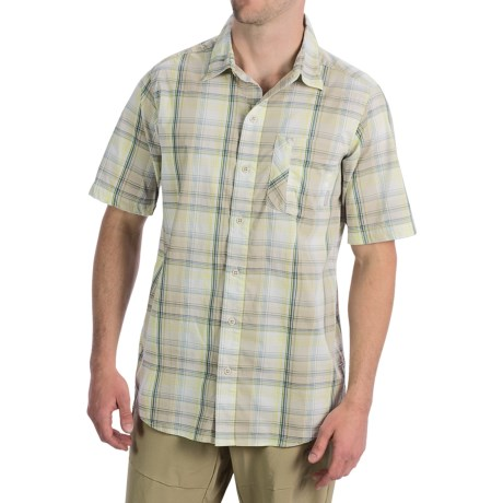 Columbia Sportswear Decoy Rock Shirt - Short Sleeve (For Men) in Fossil