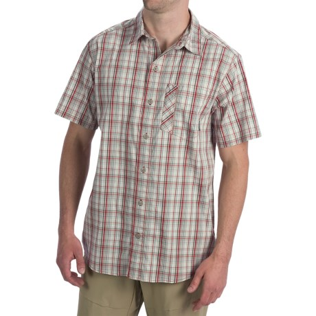 Columbia Sportswear Decoy Rock Shirt - Short Sleeve (For Men) in Rocket