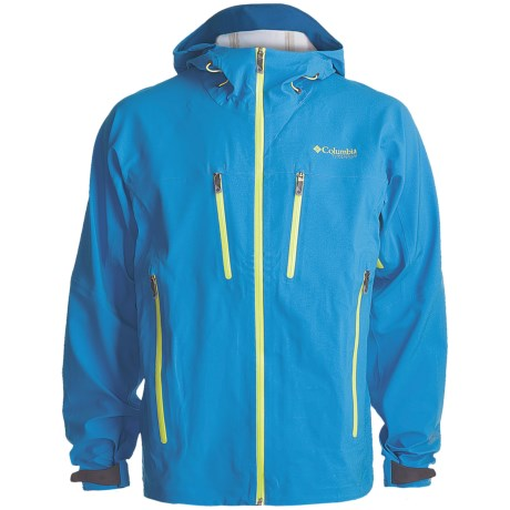 Columbia Sportswear Deep Ghyll Shell Jacket (For Men) in Compass Blue