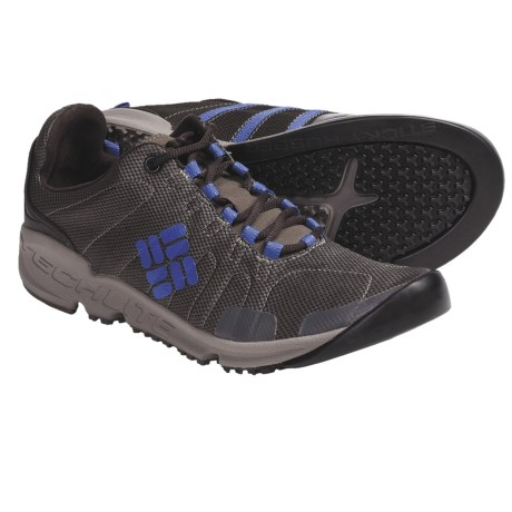 Columbia Sportswear Descender Multi-Sport Trail Shoes (For Women) in Tusk/Berry Jam