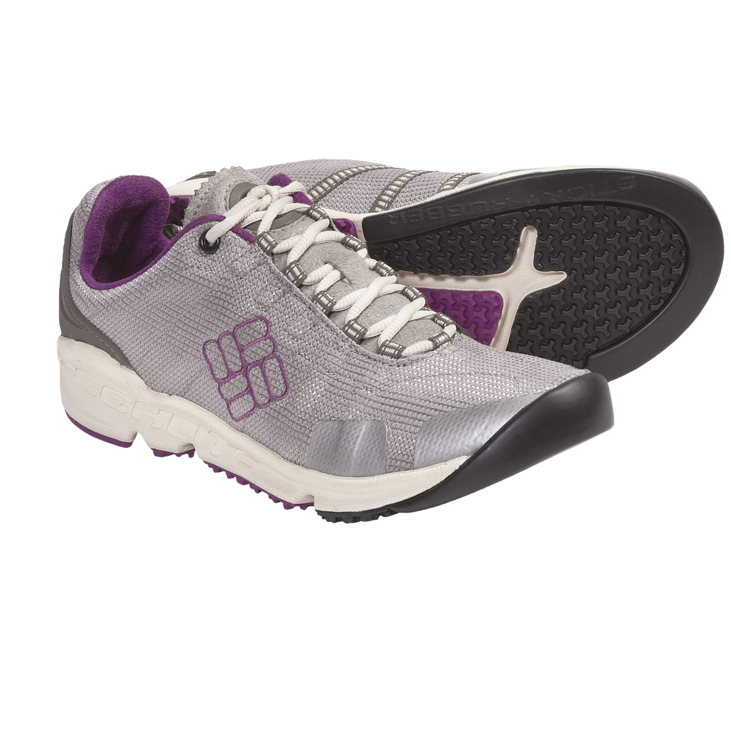 Descender Multi-Sport Trail Shoes (For Women) in Tusk/Berry Jam