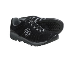 Columbia Sportswear Descender Shoes - Suede (For Women) in Black - Closeouts