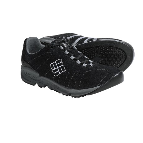 Columbia Sportswear Descender Shoes - Suede (For Women) in Black