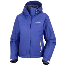 Columbia Sportswear Descent Darling II Omni-Heat®-Omni-Tech® Ski Jacket (For Women) in Light Grape - Closeouts