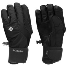 Columbia Sportswear Diamond Dash II Omni-Heat® Gloves - Waterproof, Insulated (For Women) in Black - Closeouts