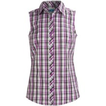 Columbia Sportswear Diamond Lake Shirt -  Sleeveless (For Women) in Berry Jam - Closeouts