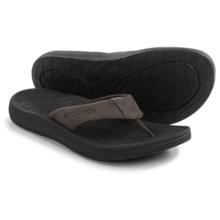 Columbia Sportswear Dockflip II Flip-Flops (For Men) in Cordovan/Black - Closeouts