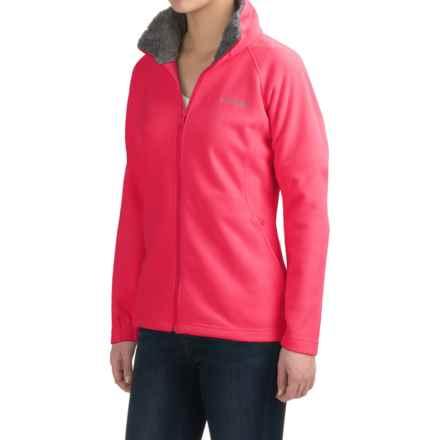Columbia Sportswear Dotswarm II Omni-Heat® Fleece Jacket (For Women) in Punch Pink - Closeouts