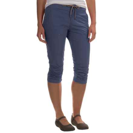 Columbia Sportswear Down the Path Capris (For Women) in Nocturnal - Closeouts