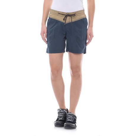 Columbia Sportswear Down the Path Shorts (For Women) in Crouton/Nocturnal