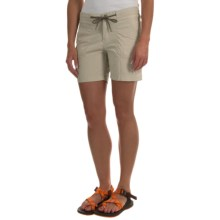 Columbia Sportswear Down the Path Shorts (For Women) in Fossil - Closeouts