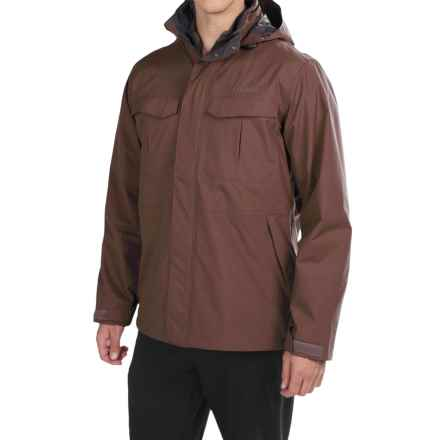 Columbia Sportswear Dr. Downpour Omni-Tech® Jacket - Waterproof (For Men) in New Cinder - Closeouts