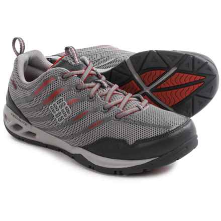 Columbia Sportswear Drainmaker Fly Water Shoes (For Men) in Light Grey/Rocket - Closeouts