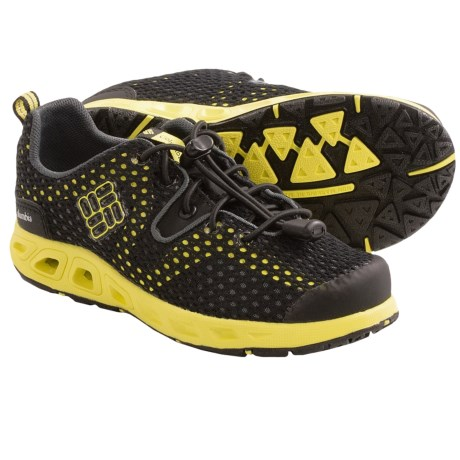 Columbia Sportswear Drainmaker II Shoes (For Kids) in Dark Compass/Nuclear