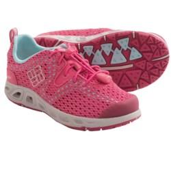 Columbia Sportswear Drainmaker II Shoes (For Youth) in White Cap/Fresh Kiwi