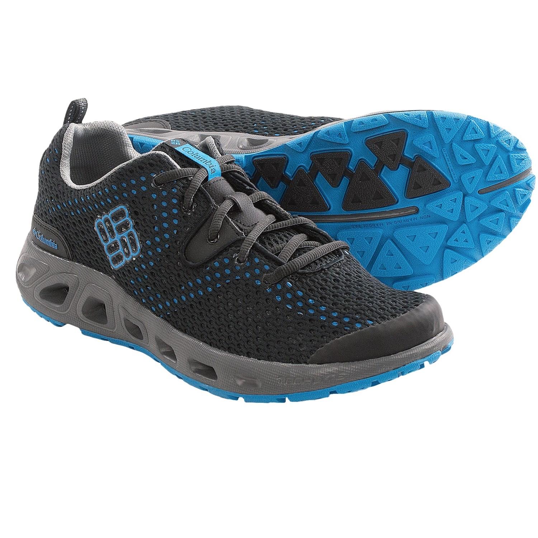 Columbia Sportswear Drainmaker II Water Shoes (For Men) in Black/Dark