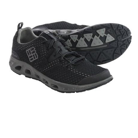 Columbia Sportswear Drainmaker II Water Shoes (For Men) in Black/Light Grey