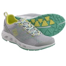 Columbia Sportswear Drainmaker III Water Shoes (For Women) in Cool Grey/Fresh Kiwi - Closeouts