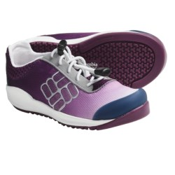 Columbia Sportswear Drainmaker Water Shoes (For Kids) in Berry Jam/Windsor